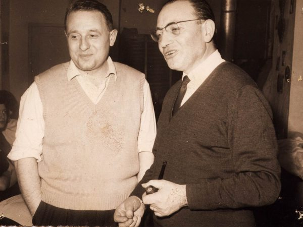 Jean Crétu (à gauche) et Bruno Castagna (à droite)